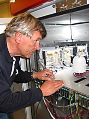 Tor-Henning Iversen håper plantedyrkingsenheten kan sendes ut i rommet om ett år